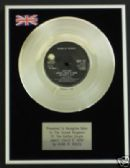 "GUNS AND ROSES - 7"" Platinum Disc - SWEET CHILD O' MINE"